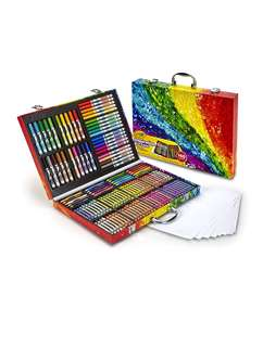 Brand new 140 pcs crayola art case