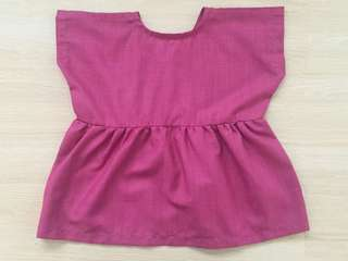 *NEW* Dark Pink Girl Blouse