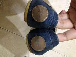Flatshoes wakai ori minus warna pudar