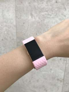 Fitbit Charge 2 Pastel Pink Straps in 'S'