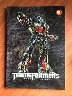 Transformers A4 writing notepad