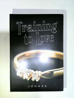 Training To Love by Jonaxx (Wattpad book)