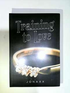 Training To Love by Jonaxx (Wattpad book)
