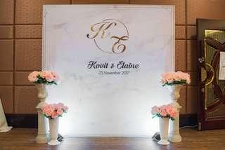 Wedding Decoration/backdrop