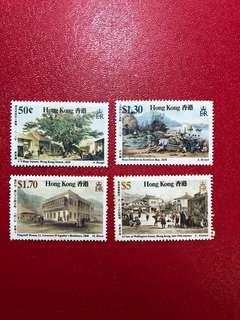 香港郵票-香港舊日風貌