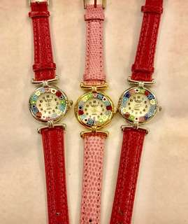 Authentic Murano Watches