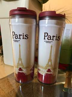 Tumbler starbucks PARIS