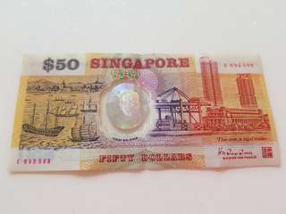 Old Singapore $50