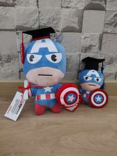 Captain America graduation bouquet