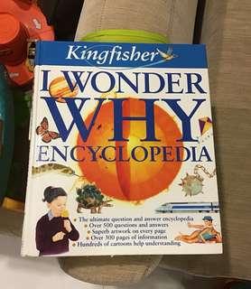 Kingfisher's I wonder why encyclopedia hardcover