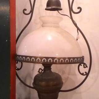 Brass Lamp From England