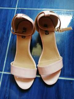 Baby Pink colored sandals