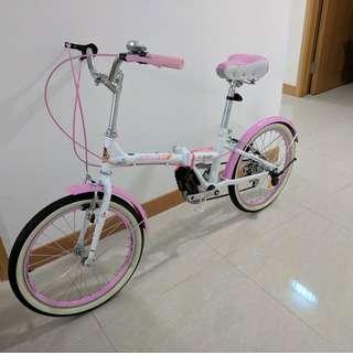 """清走存貨: 20吋摺疊式單車 (Clearance sale: 20"""" Folding bike)"""
