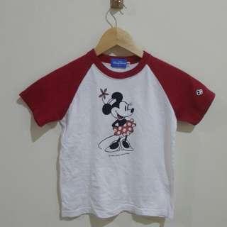 Disney Minnie Mouse Kids Tshirt