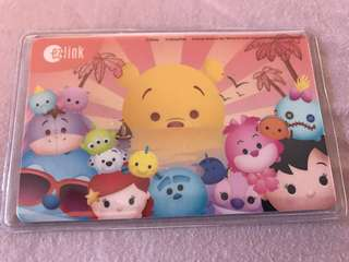 Tsum tsum pooh bear ezlink w $5