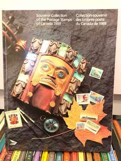 1989 Collection of stamps of Canada 加拿大郵票冊
