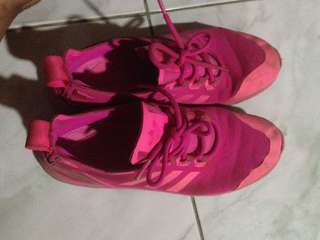 Adidas Shoes ( Pink )