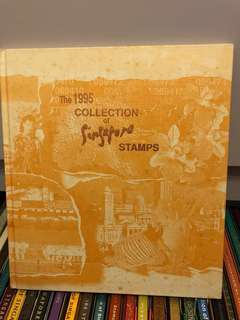 1995 Collection of Singapore stamps 新加坡郵票冊