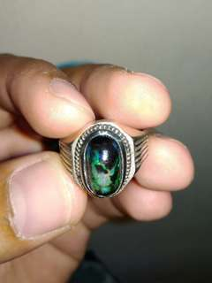 Black opal wood kalimaya bukan bacan