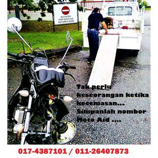 Motorcycle Towing 017-4387101 / 011-26407873 / 016-3778183
