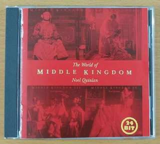 """CD: """"The World of Middle Kingdom"""" - Noel Quinlan *(this is the best collection of Middle Kingdom series)"""