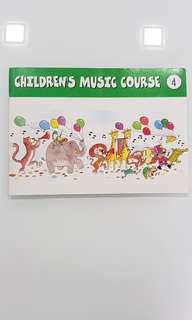 YAMAHA CHILDREN'S MUSIC COURSE 4