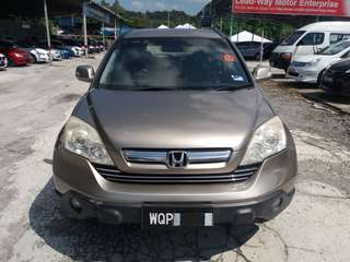 SAMBUNG BAYAR  HONDA CRV 2.0 IVTEC AUTO YEAR 2007 MONTHLY RM 950 BALANCE 5 YEARS + ROADTAX VALID LEATHER SEAT  DP KLIK wasap.my/60133524312/crv