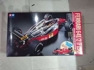 Tamiya 1/12 Ferrari F1 641/2 連 MSM 水紙