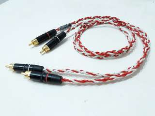 Purity Copper Tri Braid Geometry RCA to RCA