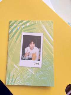BTS J-HOPE SUMMER PACKAGE 2017 OFFICIAL SELFIE BOOK