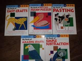 kumon books for kids