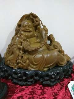 Very big and heavy stone Buddha sale