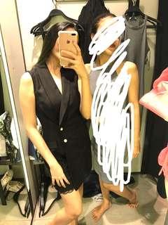 Zara black pearl Jumpsuit