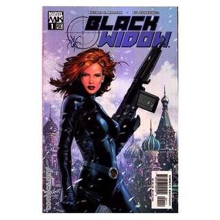 Black Widow Marvel Knights #1-5