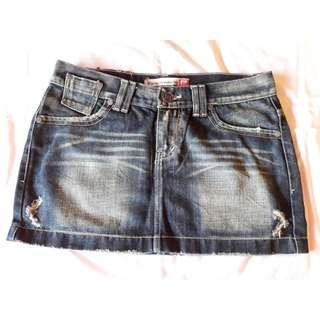 Rok jeans cewek / L