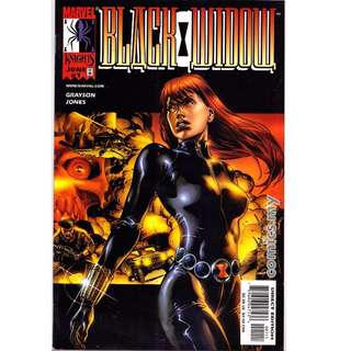 Black Widow #1-3 Marvel Knight w/variant cover