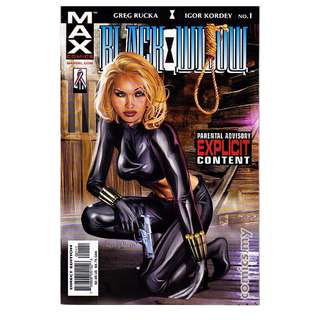 Black Widow #1-3 MAX Explicit adults only