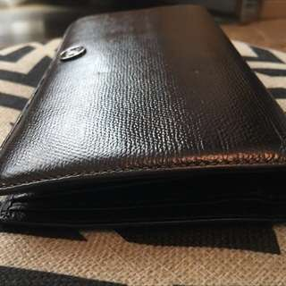 Authentic Chanel Calfskin Long Wallet