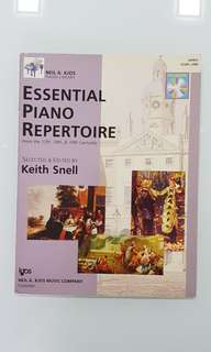 ESSENTIAL PIANO REPERTOIRE BY KEITH SNELL LEVEL One c/w CD