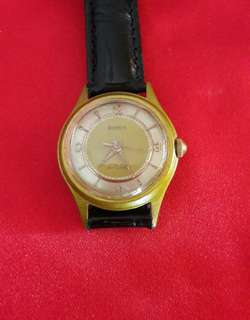 Swiss Rosysis Gold Plated Watch