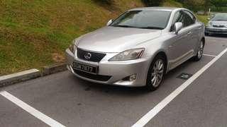 Lexus IS250 2.5 Auto Premium