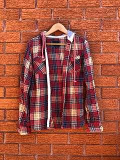 Freshjive hooded long sleeve top