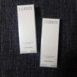 Calvin Klein Eternity for women (onhand)