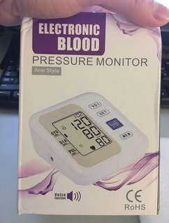 Electronic Blood Pressure Monitor