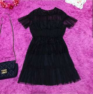 Navy blue tiered tulle dress 🎀 FREE SHIPPING
