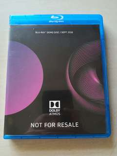 Dolby Atmos Bluray Demo Disc Sept 2016