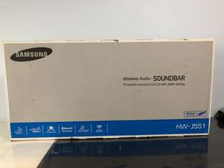 Samsung Sound Bar HW-J551