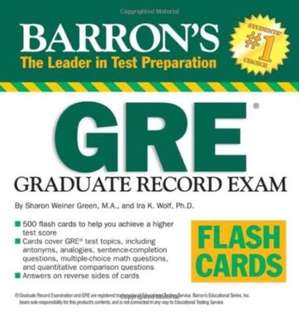 Barron's GRE Flash Cards