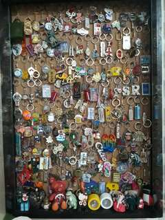Imported Keychains,magnets and snowglobes