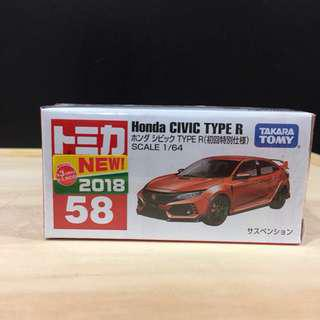 ❤️Ready stock❤️ [Special Edition] Tomica Honda Civic Type R